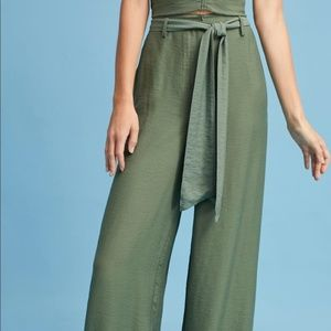 Anthropologie Maeve Claire Wide-Leg pants.